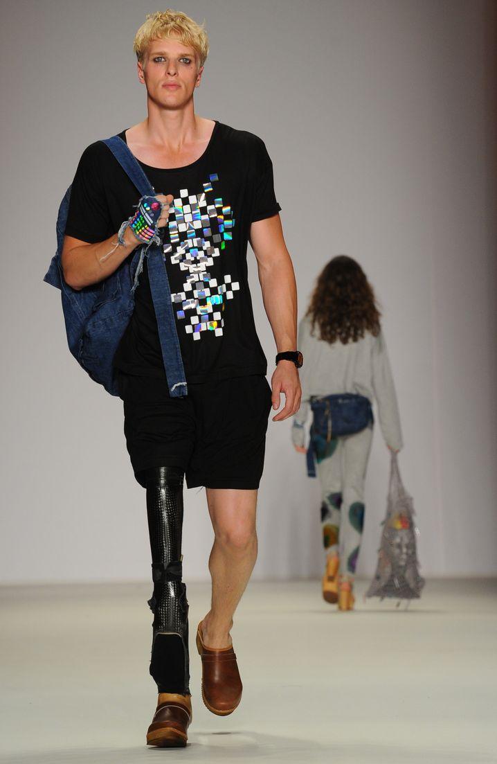 Das Label Starstyling hat Galla für die Berlin Fashion Week eingekleidet
