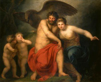 Geschwister- und Ehepaar Zeus und Hera: Mächtige Wirkung