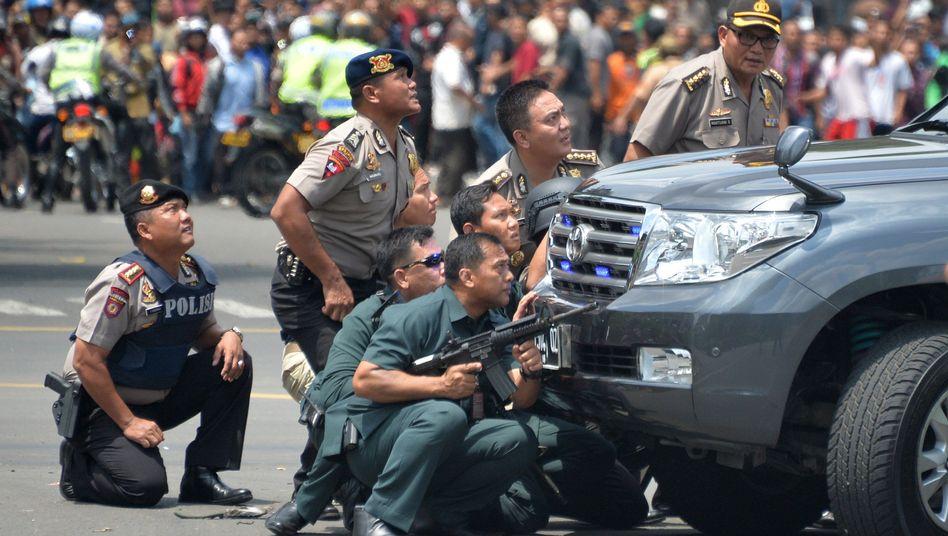 Indonesien: Anschlägein Jakarta -Tote und Verletzte