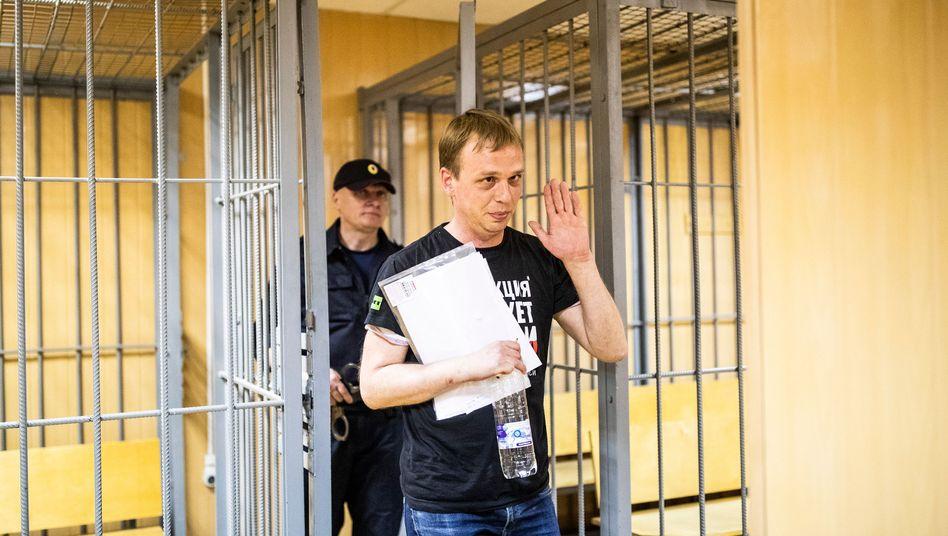 Wieder frei: Journalist Iwan Golunow