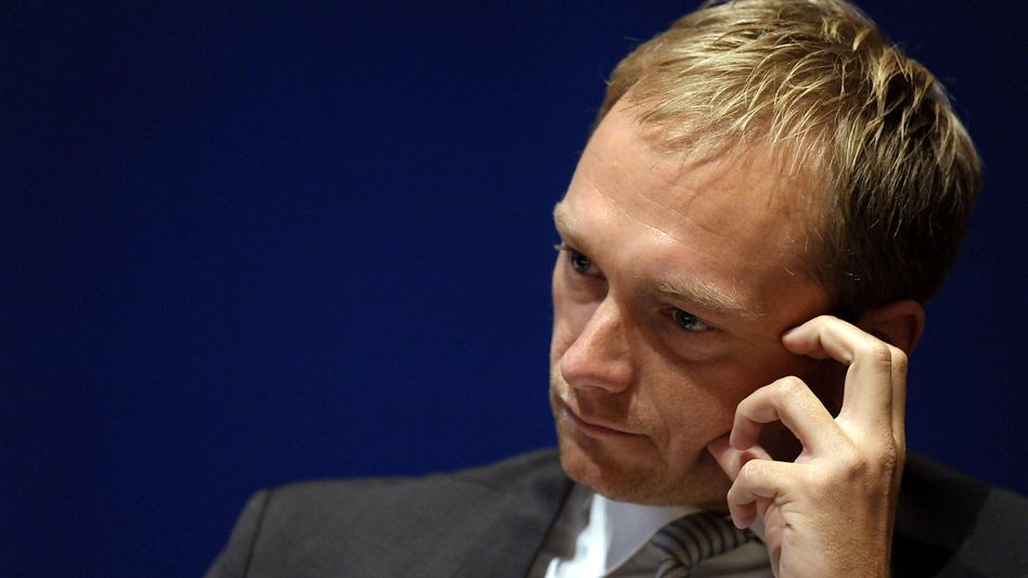 Christian Lindner, general secretary of the Free Democrats, resigned on Wednesday.