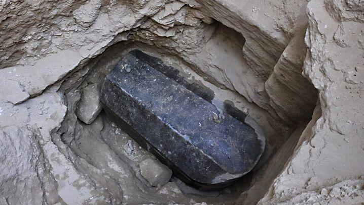 Ägypten: Die Toten aus dem Riesen-Sarg
