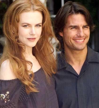 Nicole Kidman und Tom Cruise im September 1999