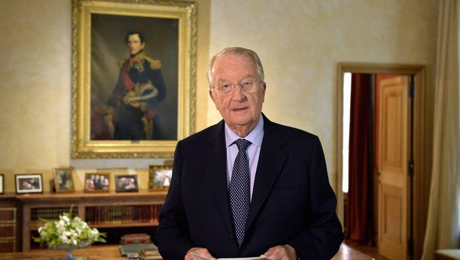 Belgiens König Albert II.: Er gab im Fernsehen seine Abdankung bekannt