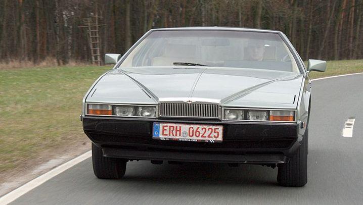 Aston Martin Lagonda Bj 1982 Das Auto Von Einem Anderen Stern Der Spiegel