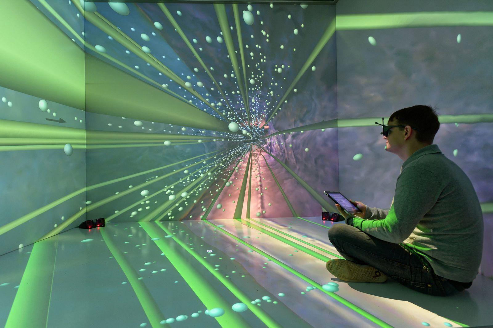 VR/ Virtuelle Realität/ Roboter/ Bergakademie Freiberg
