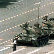 Protest gegen Chinas Regierung auf dem Tiananmen-Platz 1989: Peking schottet sich ab