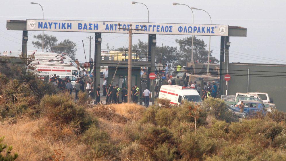 Zypern: Explosionen zerstören Marinestützpunkt