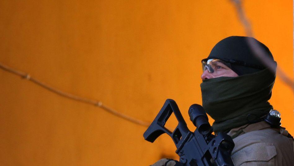 Deutscher Sicherheitsmann im Nordirak: Unklare Zukunft für die Bundeswehrmission