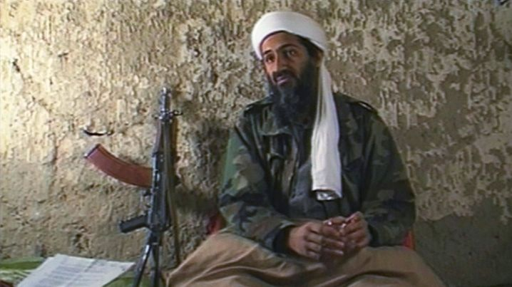 """Osama bin Laden in Afghanistan: """"The Sept. 11 attacks were largely planned and prepared in Hamburg and the U.S."""""""