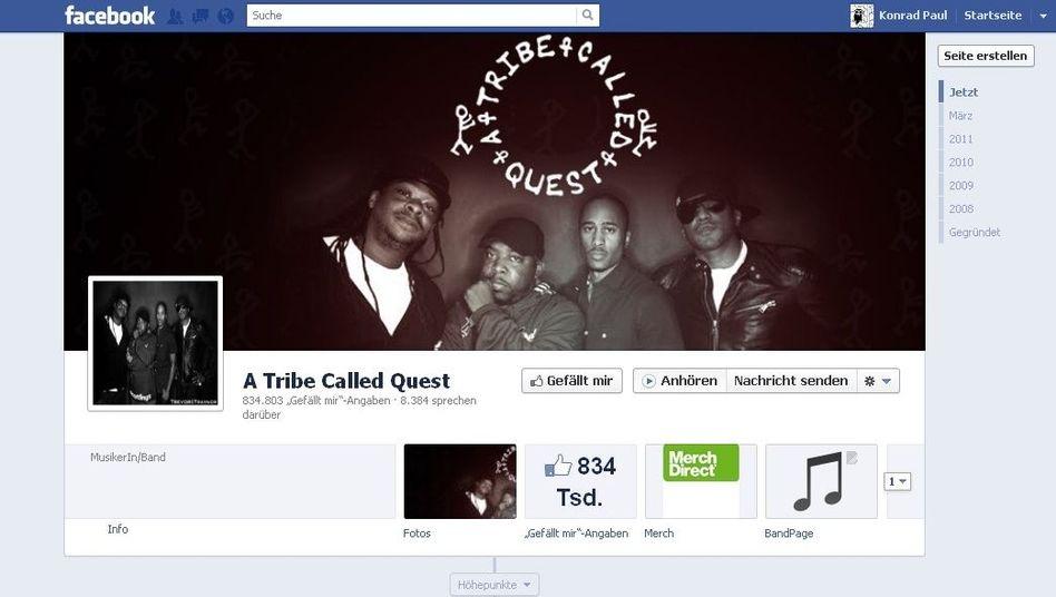 """""""Anhören""""-Button auf Facebook: Mehr Nutzer für Spotify und Co."""