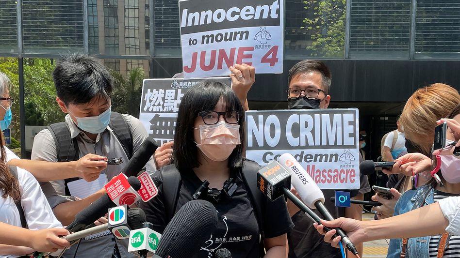 Chow Hang-Tung: Verbotenes Gedenken