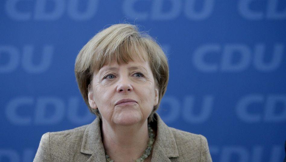 """Kanzlerin Merkel: """"Wir haben ein solides Ergebnis erreicht"""""""