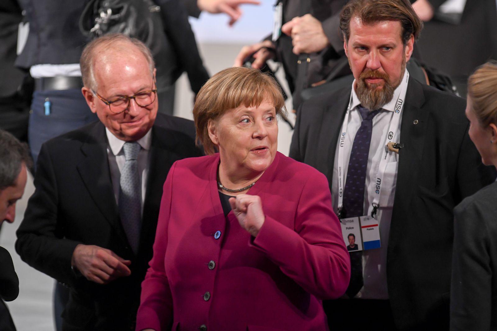 Angela Merkel Münchner Sicherheitskonferenz