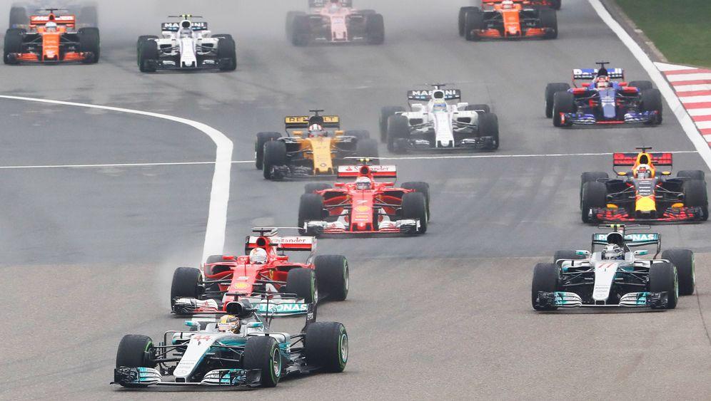 Formel 1: Reifen wechsel dich