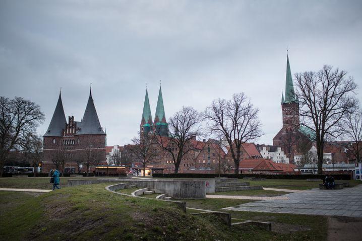 Lübecker Altstadt mit Holstentor