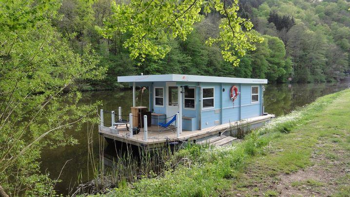 Hausboot: Für Seniorgründer Laux eine Geschäftsidee