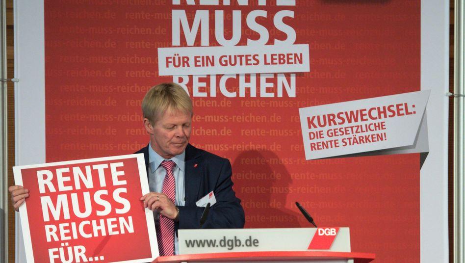 DGB-Chef Reiner Hoffmann