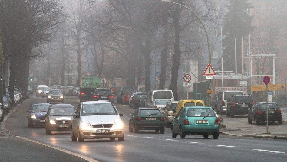 Straßenszene in Berlin