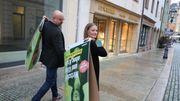 Grüne starten Plakataktion in Zwickau