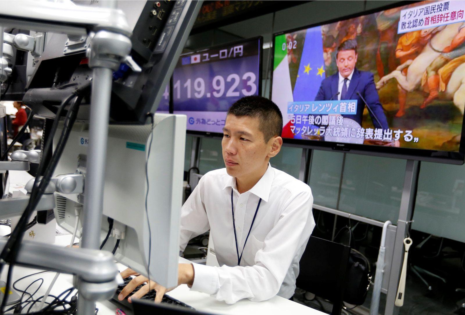 GLOBAL-MARKETS/ Italien Japan Börse