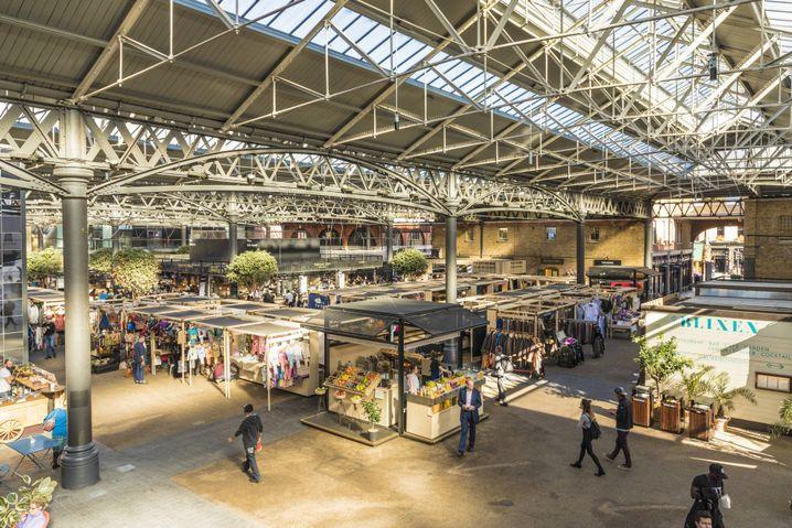 Old Spitalfields Market: Einkaufen unter der Woche