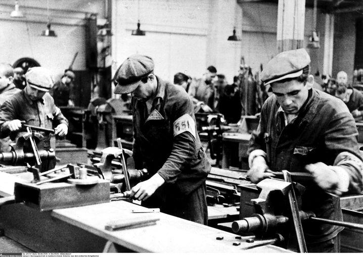 Osteuropäische Zwangsarbeiter