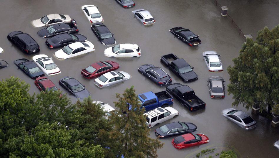 """Überschwemmungen in Houston durch Hurrikan """"Harvey"""""""