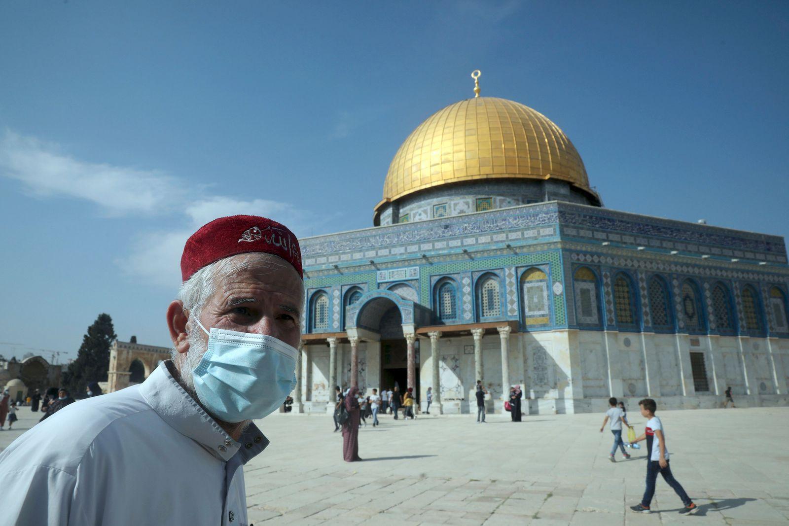 Virus Outbreak Israel Palestinians