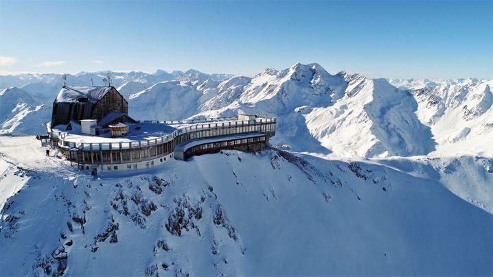 Kein Hotel liegt in Europa höher: Das Glacier Hotel Grawand