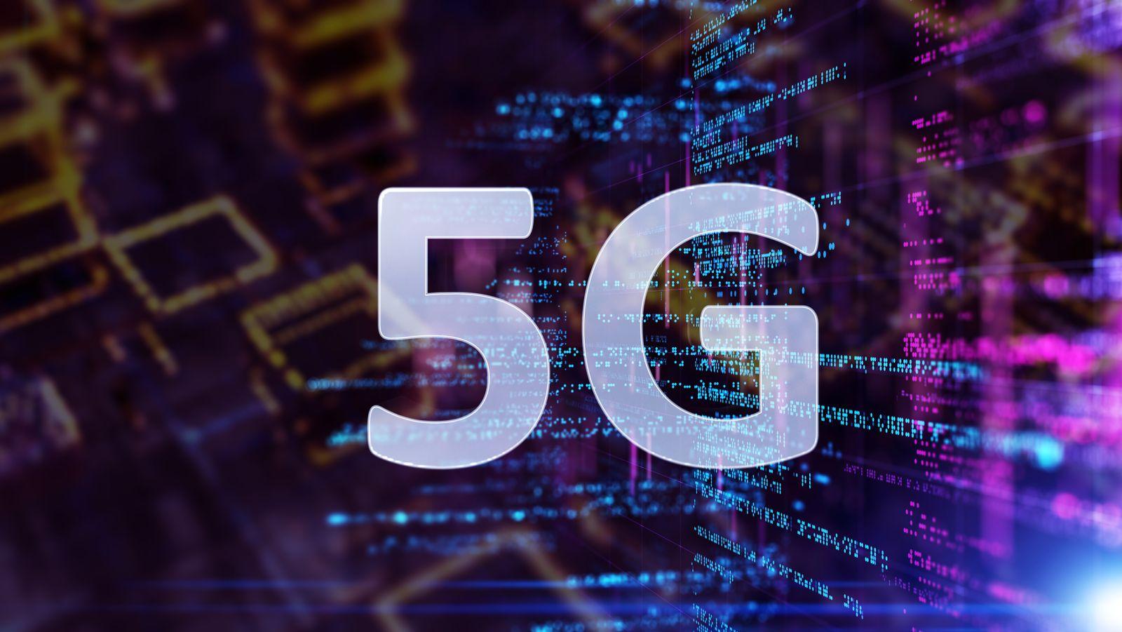 EINMALIGE VERWENDUNG 5G/ Internet/ Schnelligkeit