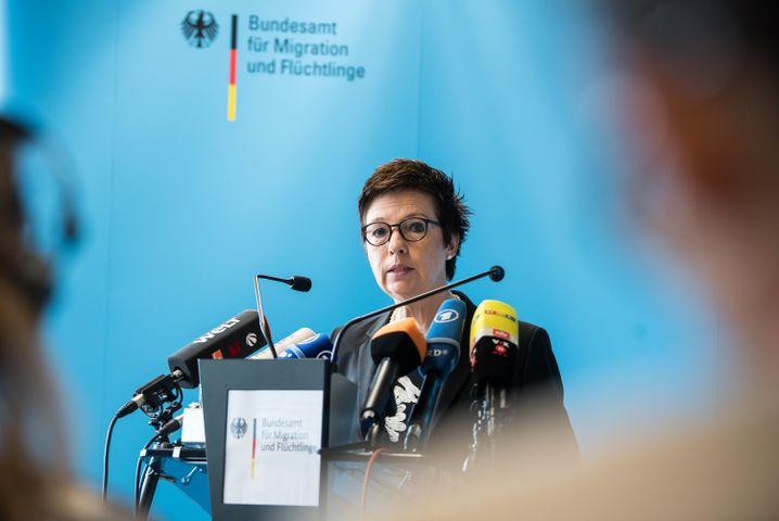 Bamf-Präsidentin Jutta Cordt
