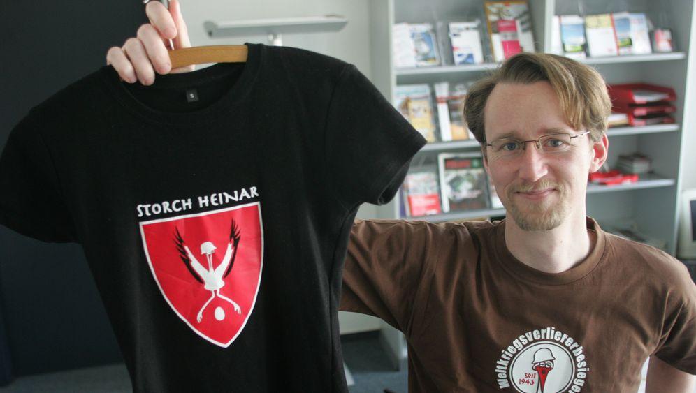"""Rechtsstreit: """"Thor Steinar"""" gegen """"Storch Heinar"""""""