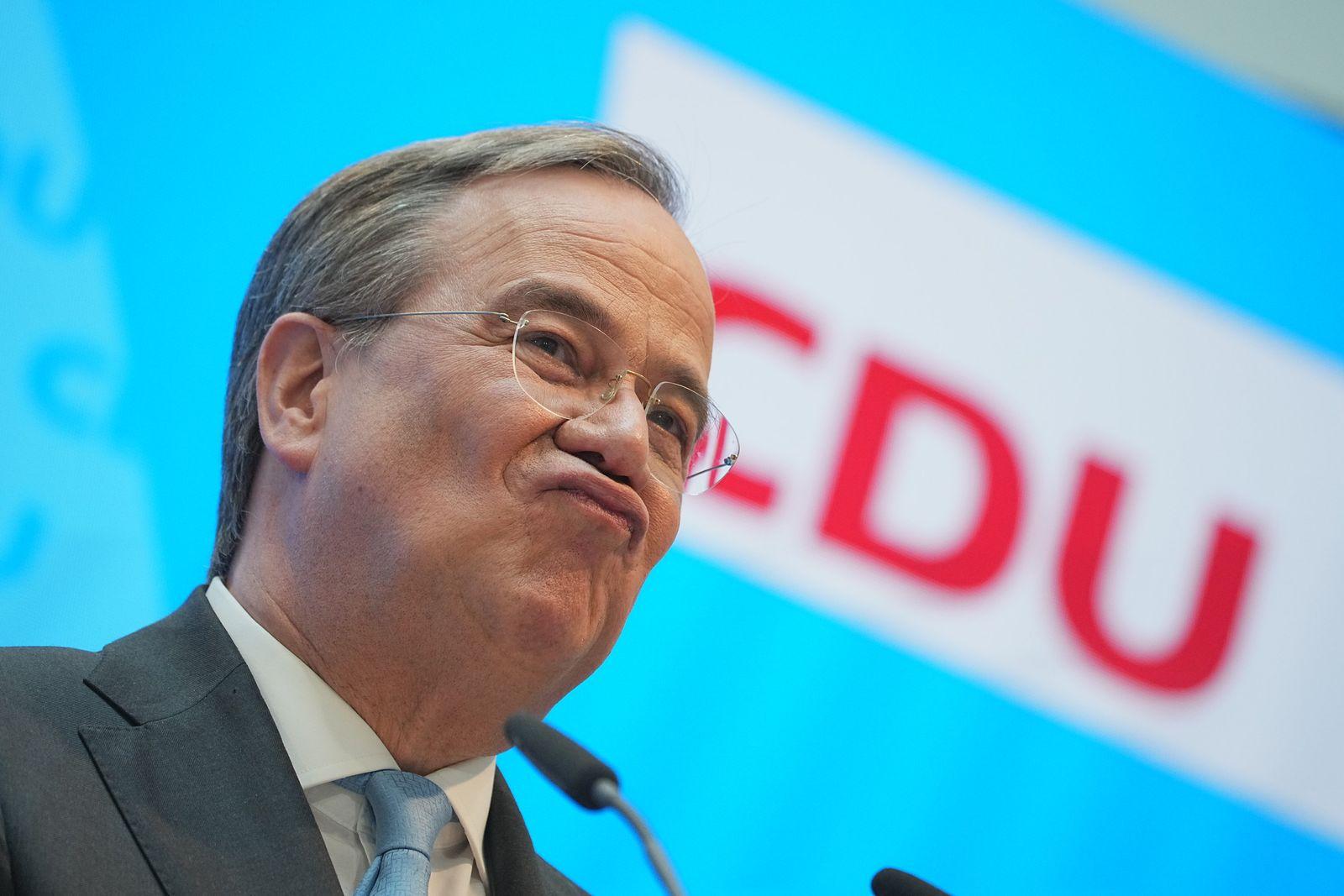 CDU-Chef Armin Laschet zur Kanzlerkandidatenfrage der Union