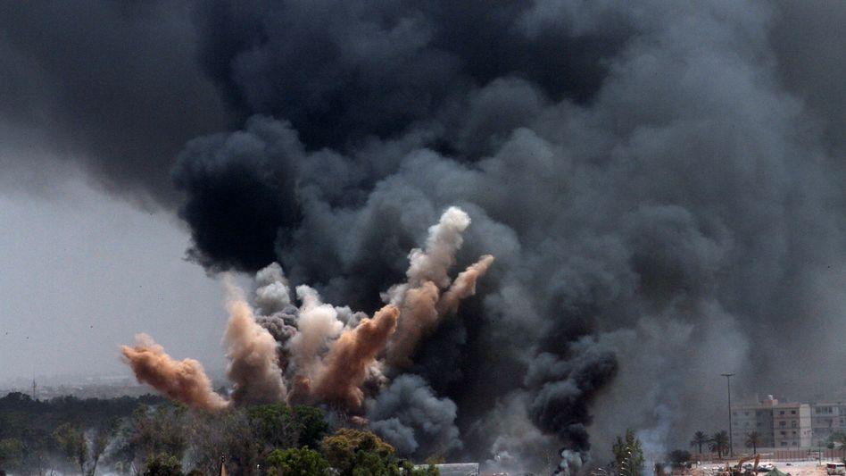 Bomben in Libyen: Bundeswehr-Beteiligung stärker als bislang angenommen