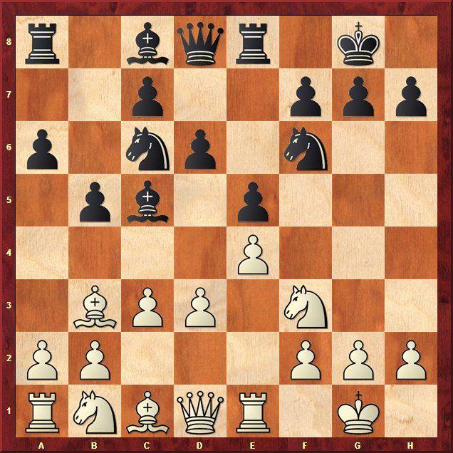 EINMALIGE VERWENDUNG Schach-WM 2013 / Analysen / Stellung 6.1