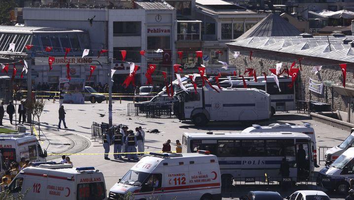 """Terroranschlag in Istanbul: """"Eine schreckliche Explosion"""""""