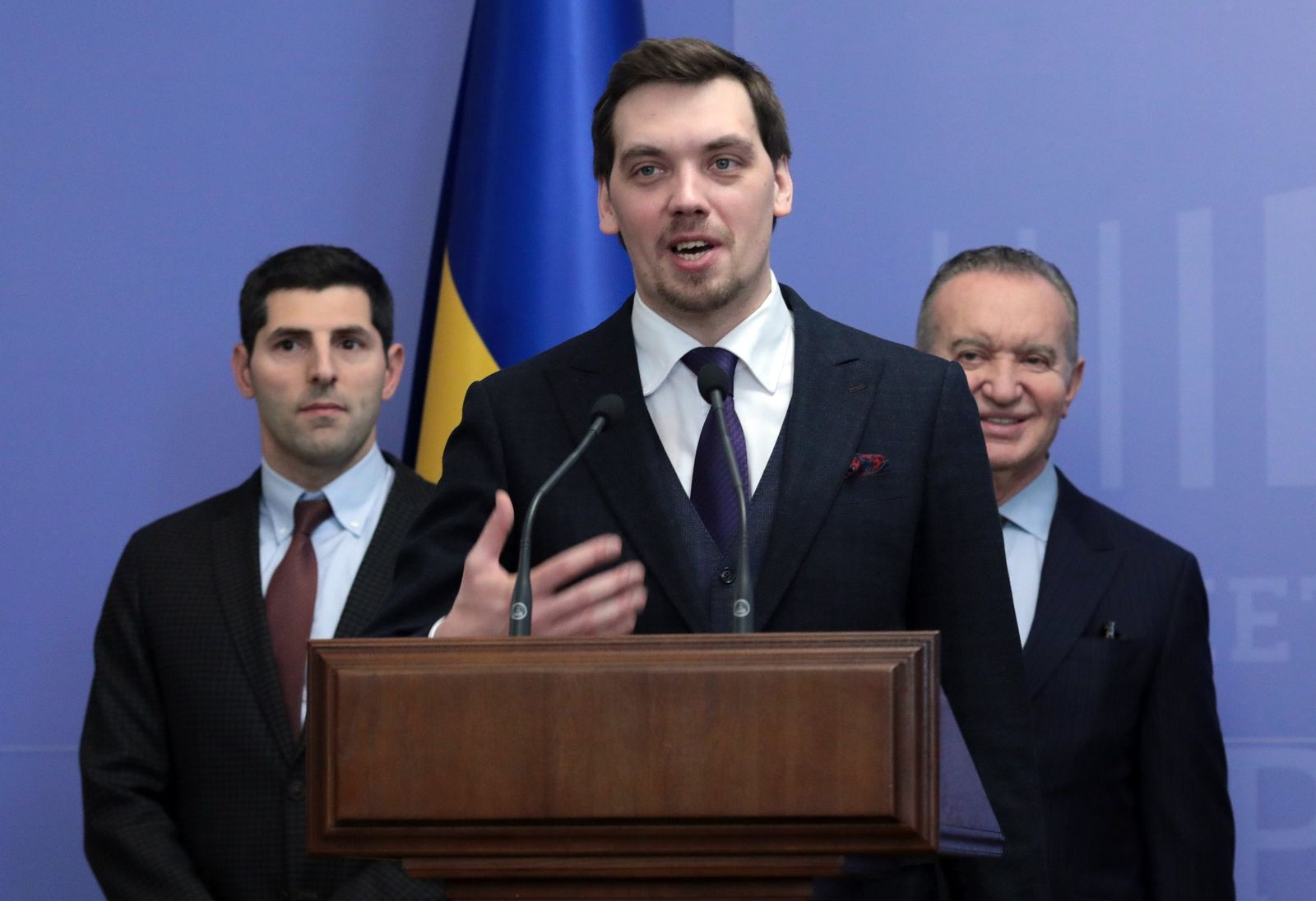 Ukrainischer Ministerpräsident Gontscharuk reicht Rücktritt ein