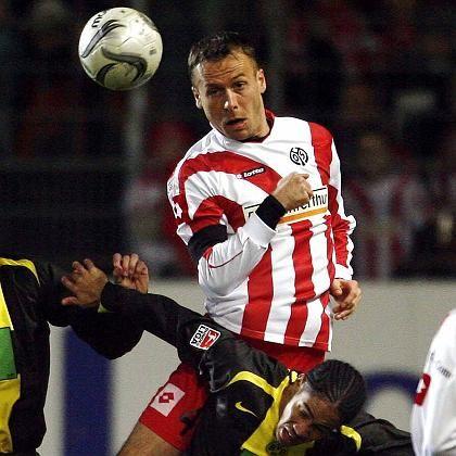 FSV-Spieler Noveski (oben): Mainzer Urgestein