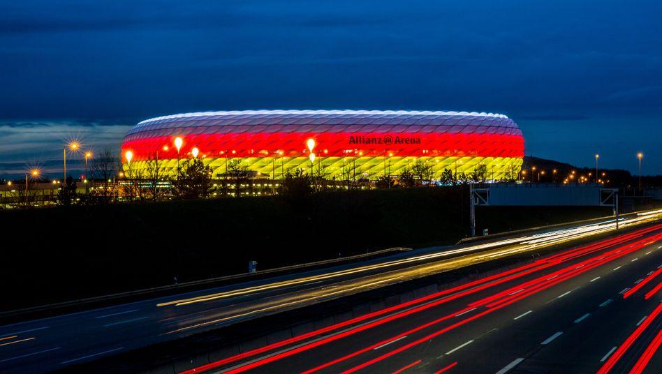 Findet die Fußball-EM ohne eine Stadt in Schwarz-Rot-Gold statt? Möglich.