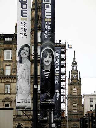 "Marketingkampagne: ""Glasgow: Scotland with Style"""