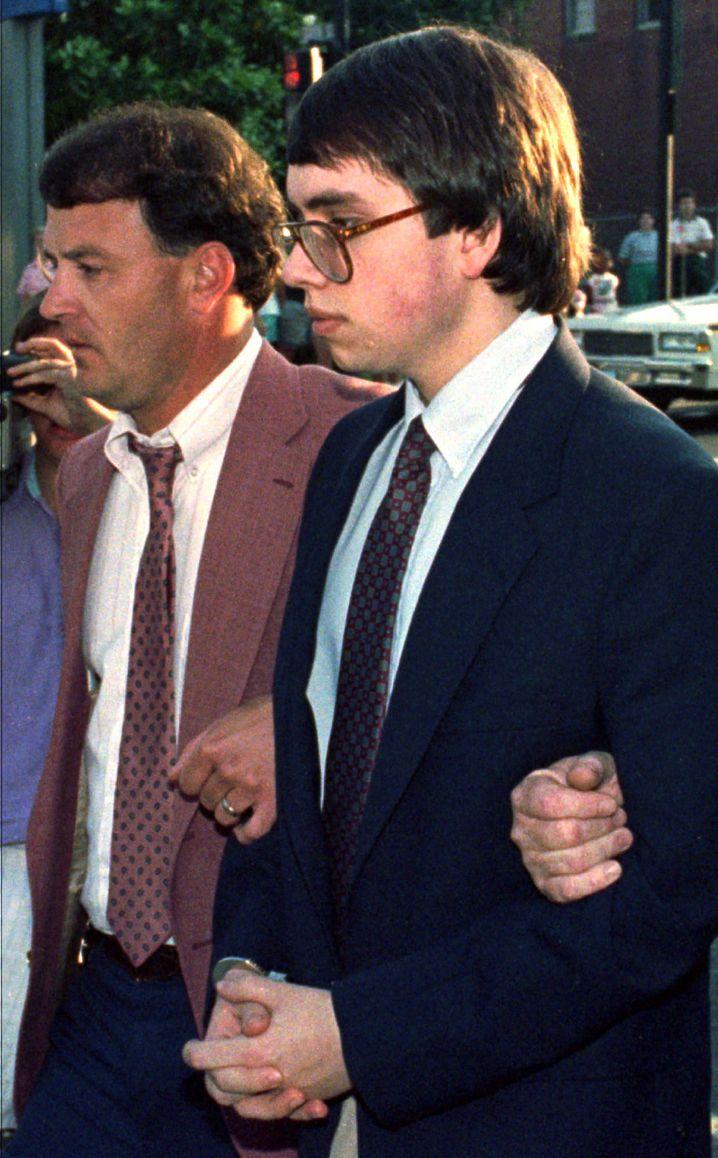 Jens Söring 1990 nach seiner Verurteilung