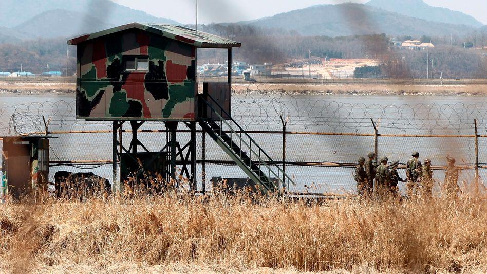 """Südkoreanische Grenzstation: """"Keine ungewöhnlichen Schritte"""""""