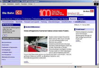 Bahn-Website: Hat inzwischen aufgeholt