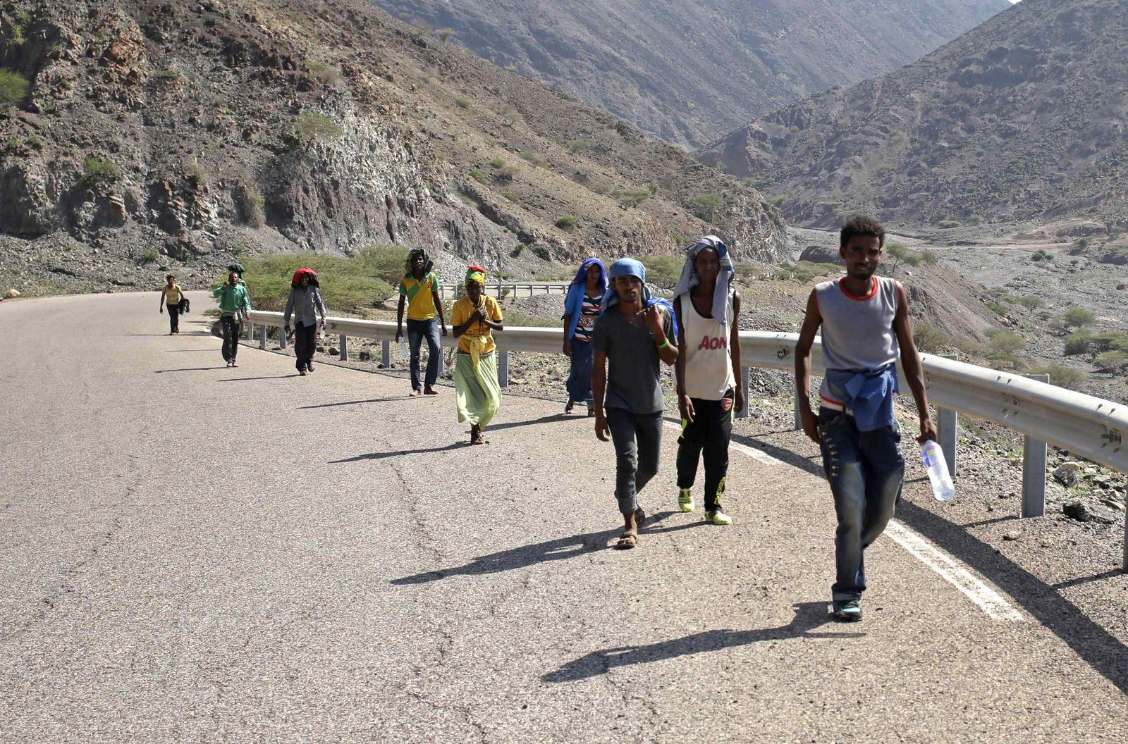 Flüchtlinge Djibouti