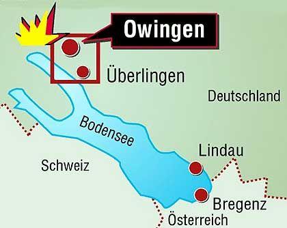 Das Leitwerk der Tuplolew wurde bei Owingen gefunden