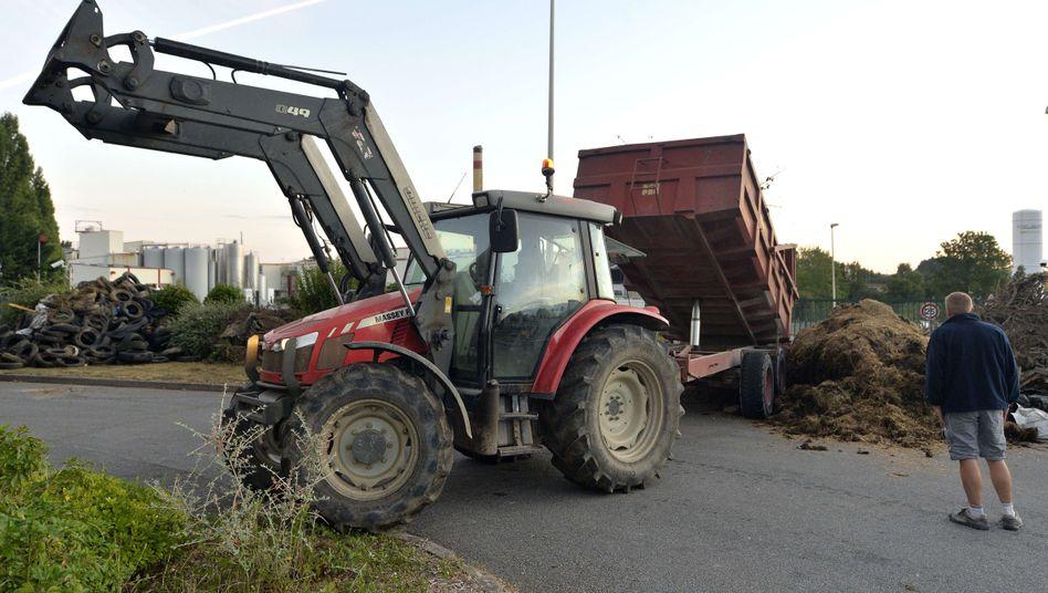 Proteste gegen Wettbewerbsverzerrung: Französische Bauern blockieren Grenze zu Deutschland