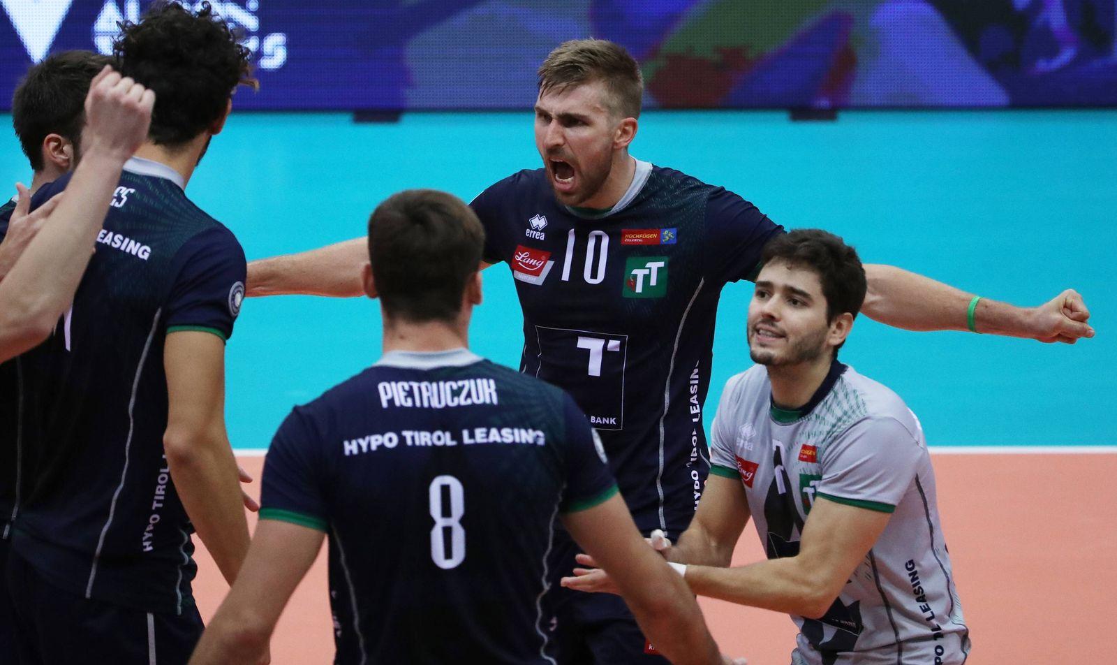EINMALIGE VERWENDUNG Volleyball/ Tirol vs Ingersoll
