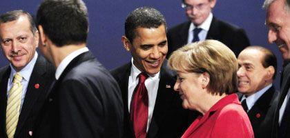 G-20-Gipfelteilnehmer in London: Anleger schöpfen neue Zuversicht