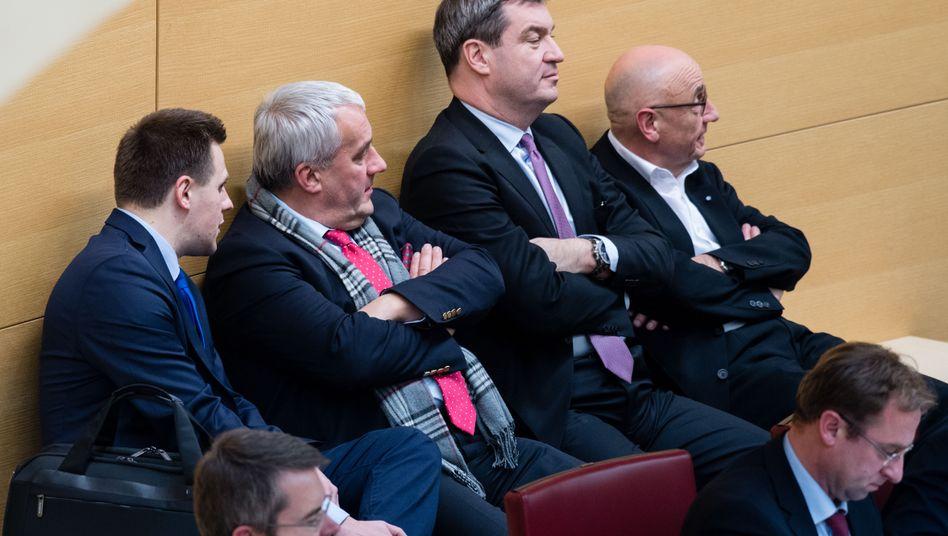 CSU-Politiker im Bayerischen Landtag